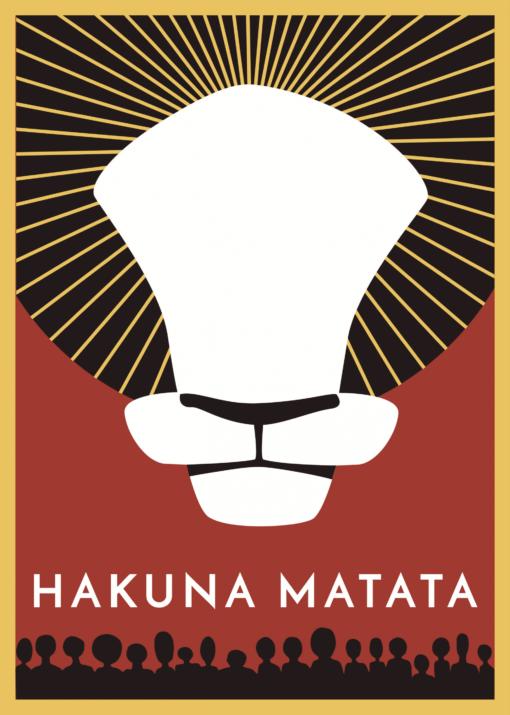 Kniha Hakuna Matata – obálka